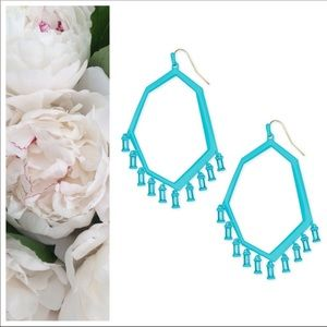 Kendra Scott Thomas Drop Earrings Matte Aqua NEW!